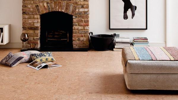 Пробковый пол Granorte Cork Trend Classic в интерьере
