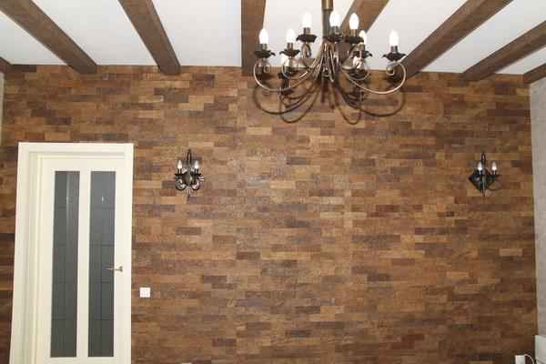 Пробковые панели для стен в интерьере