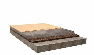 Плавающий пол с деревянным настилом