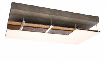 Пробковый агломерат - акустический подвесной потолок
