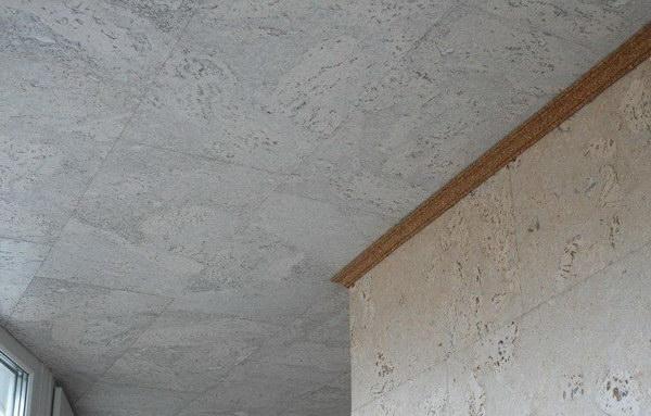 Пробковые покрытия в интерьере